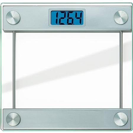 Taylor 7519 Ultra Thick Glass High-capacity Digital Bath Scale with Large 1.5