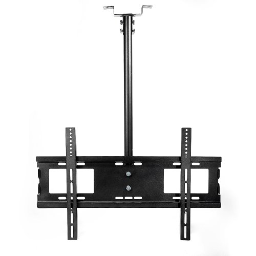 Lumsing Black Tilt & Swivel Lcd Led Plasma Flat Panel Tv Monitor Ceiling Wall Mount Bracket (32-60 Inches Tv Display)