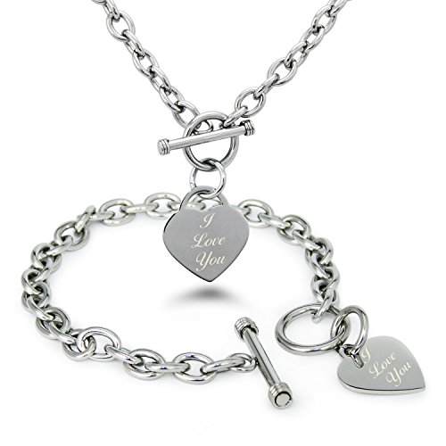 stainless-steel-engraved-i-love-you-heart-tag-charm-set