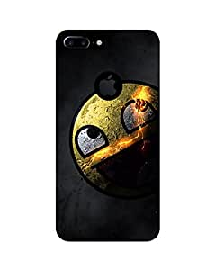 GripIt Awesome Face Printed Back Cover for Apple iPhone 7 Plus