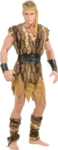 Men's Cool Caveman Halloween Costume (X-Large)