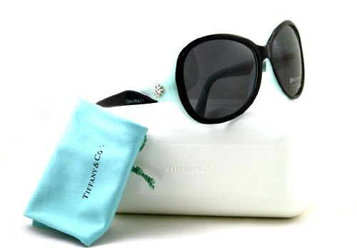 TIFFANY & CO SUNGLASSES TF 4027G 8055/3F AQUA