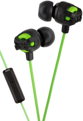Jvc Xtreme Xplosives Headphones With Remote And Mic - Green front-62129