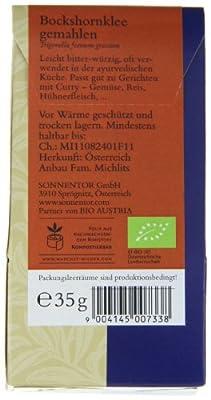 Sonnentor Bockshornklee gemahlen, 1er Pack (1 x 35 g) - Bio von Sonnentor bei Gewürze Shop