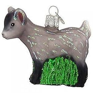 #!Cheap Old World Christmas Pygmy Goat Ornament