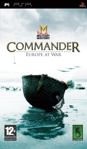 Military History Commander Europe at War (Sony PSP) Military History, The First High Level World War II Strategy Game Created for the PSP