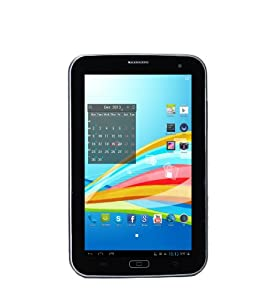 Xoro TelePAD 730 17,8 cm (7 Zoll) Tablet-PC (MTK 8377T Cortex A9, 1,2GHz, 1GB RAM, 8GB HDD, WLAN, UMTS, Bluetooth, USB 2.0, Android 4.1) inkl. Schutzhülle schwarz/weiß