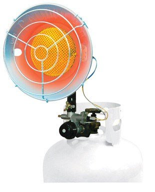 16,000 BTU Variable CSA Certified Propane Tank Top Heater