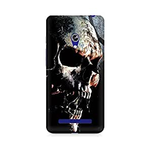 Mobicture Skull Abstract Premium Printed Case For Asus Zenfone Go
