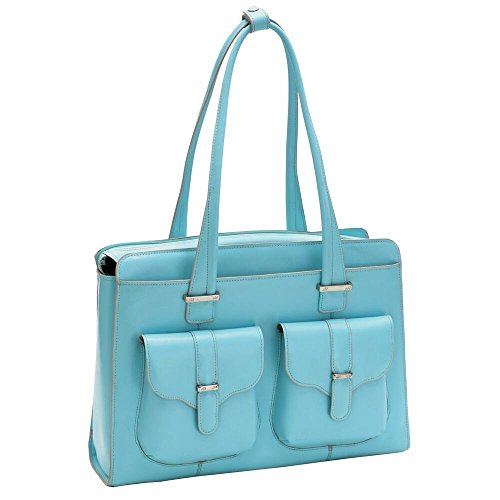 McKlein-USA-Alexis-Leather-Laptop-Handbag-For-Women-Business-Tote-in-Blue