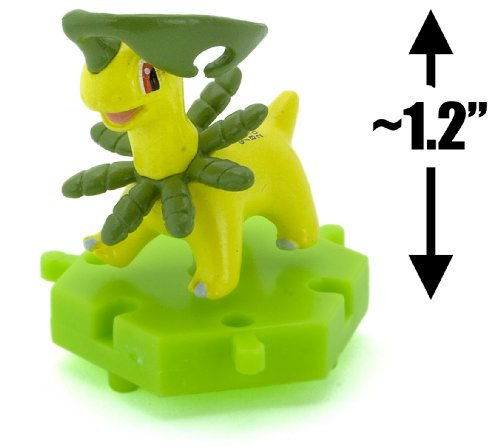 "Bayleef ~1.2"" Figure - Pokemon DP Super Encyclopedia Mini Figure Series #07 (Japanese Imported)"