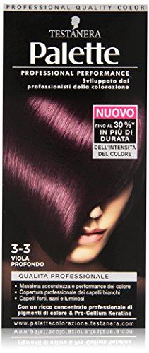 Testanera - Palette Viola Profonda 3.3, Qualita' Professionale