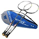 Super Light Nano Carbon Fiber Full Carbon Badminton Racket Couple Family Pack Double Racket