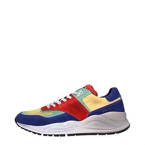 Frankie Morello 06MU Sneakers Uomo Scamosciato Multicolor Multicolor 44