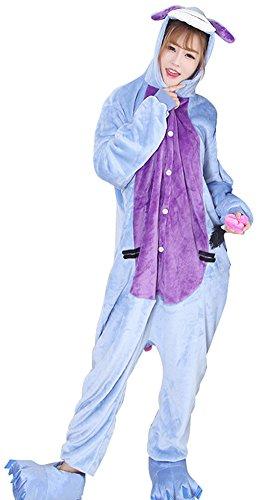 [Unisex Adult Cartoon Onesies Animal Cosplay Costume Flannel Pajamas Loungewear] (Wine Inspired Halloween Costumes)