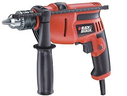 Black & Decker KR554RE 550-Watt 13mm Variable Speed Reversible Hammer Drill Machine