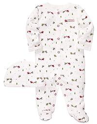 Carter\'s Baby 2-piece Christmas Sleep & Play Set (NB-9M) (3 Months)