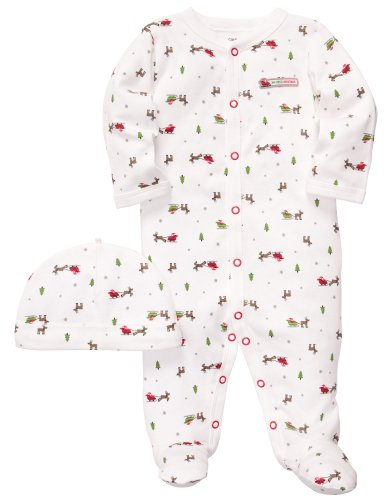 Newborn Christmas Outfits front-456408