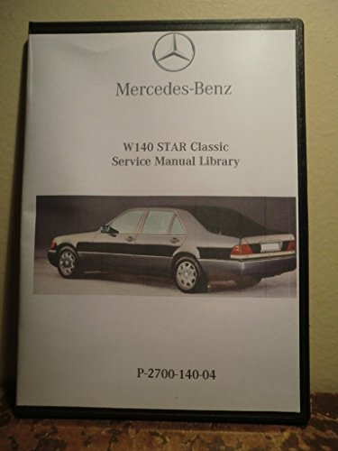 1992-1999 Mercedes Benz S500 S600 S420 S320 Factory Service Repair & Work Shop Manual (S320 Mercedes compare prices)