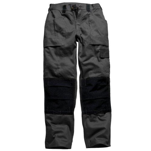 Dickies - Pantaloni Multi-Tasche - Uomo (Girovita 86cm - regolare) (Nero)