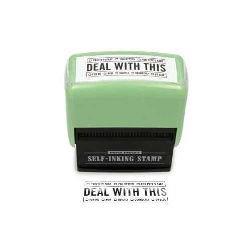 Humorous Self Inking Stamp