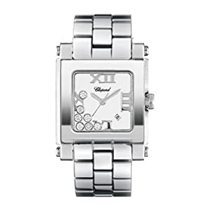Chopard Women's 27/8496-3001 Happy Sport Square Watch by Chopard