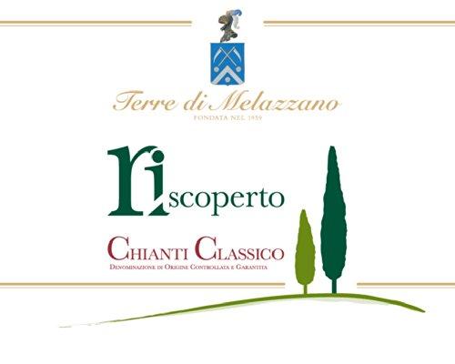 """2012 Terre Di Melazzano """"Riscoperto"""" Chianti Classico Docg 750Ml"""