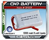 Splinter Cell C147 Paladin 11.1V 600mAh Lipoly Battery by Ubisoft