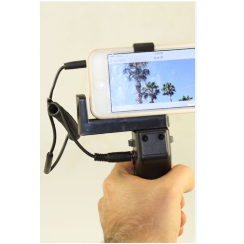 Remote Pistol Grip For Apple Iphone Ipad Ipod Shutter Release Handel Stabilizer With Cord And Handel