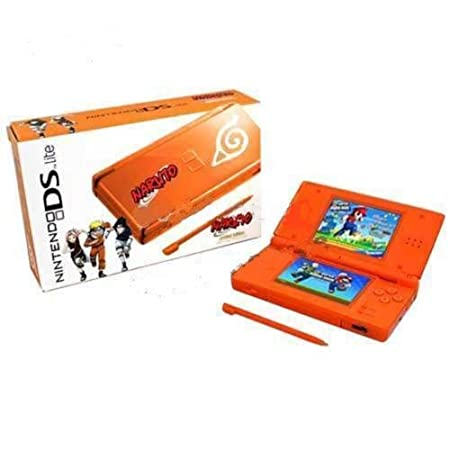 Ds Lite Orange Naruto Limited Edition