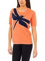 McGregor Camiseta Manga Corta Glendale Ss (Naranja / Azul)