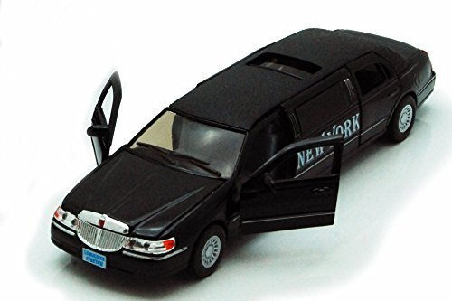 1999-new-york-lincoln-town-car-stretch-limousine-black-kinsmart-7001kny-1-38-scale-diecast-model-toy
