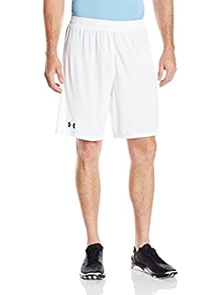Under Armour Short Entrenamiento Challenger Knit (Blanco)