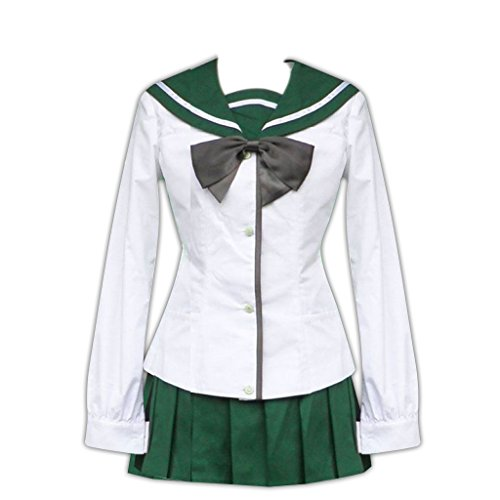 [Highschool of the Dead Cosplay Costume - Fujimi Shobo Female 1st Small] (Female Video Game Costumes)