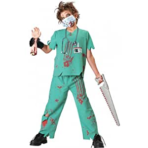 Dr. N Sane Zombie Doctor Child Costume