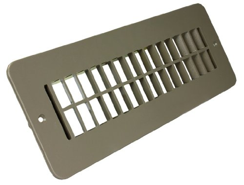 JR Products 288-86-A-TN-A Tan Floor Register (Rv Heater Vent Cover compare prices)