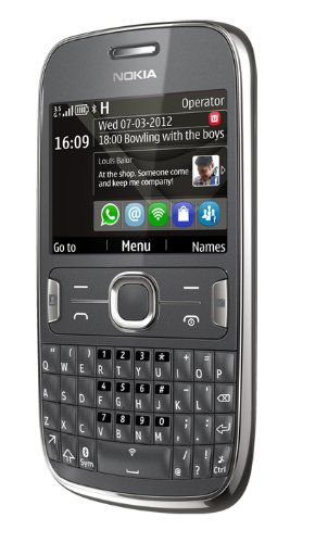 Nokia Asha 302 Sim Free Mobile Phone - Dark Grey Picture