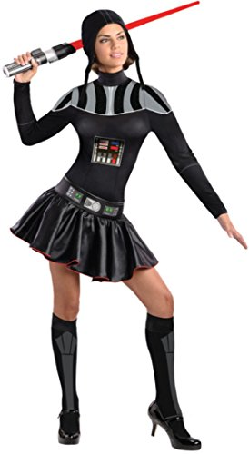 4 PC. Ladies' Darth Vader Dress Set