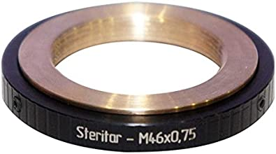 Zeiss Steritar attachment M34x1 to M46x075 thread adapter