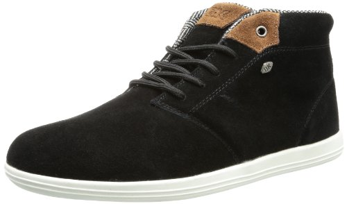 British Knights COPAL MID Trainers Mens Black Schwarz (black/cognac 4) Size: 11 (45 EU)