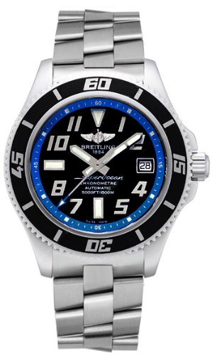 NEW BREITLING AEROMARINE SUPEROCEAN NEW WAVE MENS WATCH A1736402/BA30