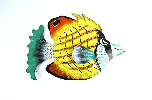 metal wall art fish