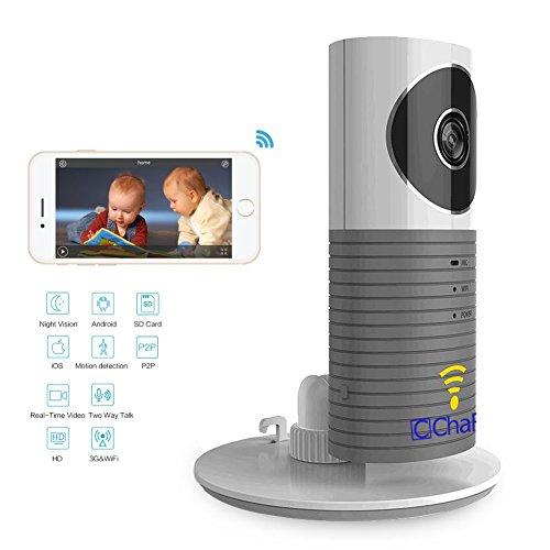 chafon wireless rotation 720p hd wifi camera video monitoring security ip smart monitor wifi. Black Bedroom Furniture Sets. Home Design Ideas