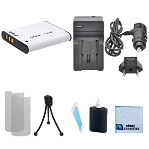 LI-50B Replacement Battery + Car/Home Charger For Olympus SZ-15, Olympus SZ-16, Olympus SZ-20, Olympus SZ-30MR, Olympus SZ-31MR, Olympus Tough TG-610, Olympus Tough TG-620, Olympus Tough TG-630, Olympus Tough TG-810, Olympus Tough TG-820 & More.. Camera + Complete Starter Kit