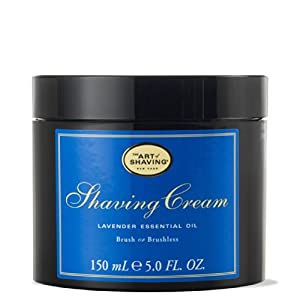 The Art Of Shaving Cream Lavender 5.0 oz