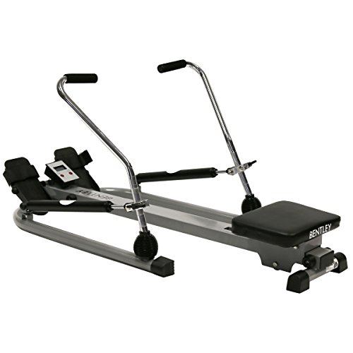 Bentley Fitness Dual Hydraulic Rowing Machine Cardio Gym Exercise Weight loss