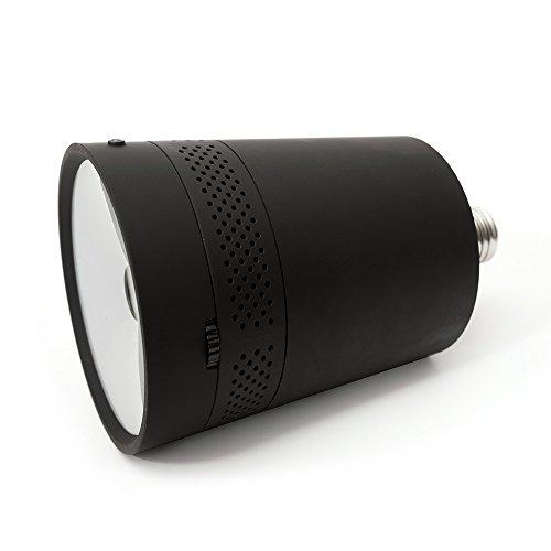 Beam Labs Beam LED Pico [Smartphone Tablet Projektor] für E27 Lampenfassungen   iOS & Android   schwarz   BEAMV1