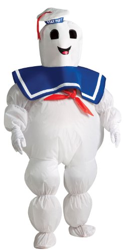 Inflatable Ghostbusters Stay Puff Marshmallow Man Kids Costume