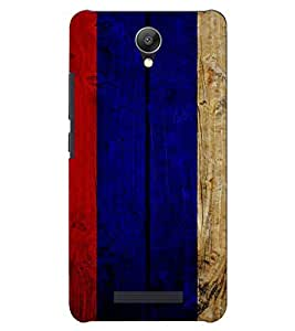 PrintVisa Painted Wooden Pattern 3D Hard Polycarbonate Designer Back Case Cover for Xiaomi Redmi Note 2