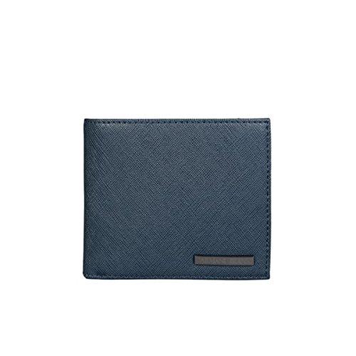 Armani-Jeans-Mens-Bifold-Wallet-06V2HT2-Size-ONE-SIZE-Blue